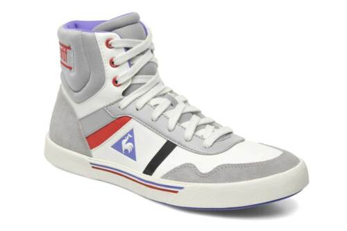 Coq Leather W Femme Marshmallow Sportif Sneaker Le Mi Lecourbe montante nxfqHIxwS