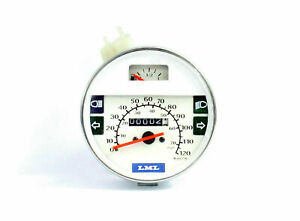 New-Vespa-PX-LML-Star-Speedometer-Assembly-White-Color-H-Q