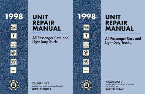 Service & Repair Manuals 1998 General Motors Unit Repair Shop ...