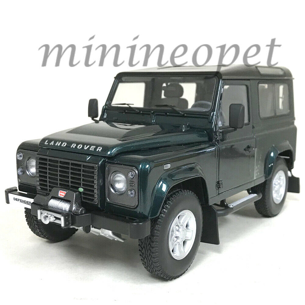 KYOSHO 08901 G LAND ROVER DEFENDER 90 1 18 DIECAST MODEL CAR ANTREE GREEN