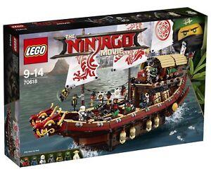 Lego The Lego Ninjago Movie Destinys Bounty 2017 70618 For Sale
