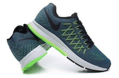 Nike Air Zoom Pegasus 32 Blue Green Black Mens Running Shoes ...