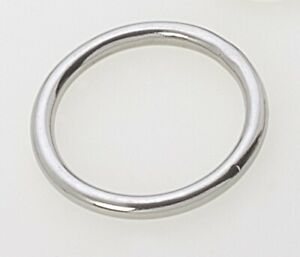"8mm x 50mm Marine Grade Stainless Steel 316 D Ring 5//16/"" x 2/"""