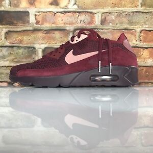 brand new 14a3e 73bb5 Image is loading Nike-Air-Max-90-Ultra-2-0-Flyknit-