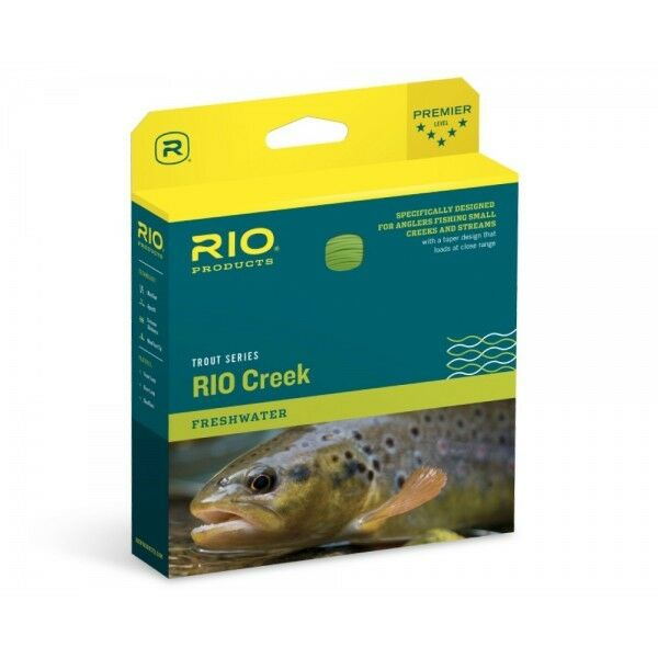 RIO CREEK DualTone WF4 Floating - Fliegenschnur - Fly Line - NEW 2019