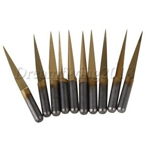 10x-20-0-1mm-Carbide-Engraving-Bits-CNC-Router-Tool-3-175mm-Shank-for-PCB-Board