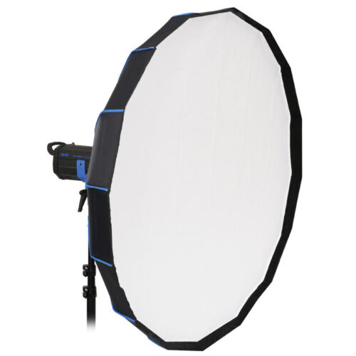 LIFE of PHOTO Mobiler Beauty-Dish 16 tlg faltbar silber Ø120 cm BRONCOLOR PULSO