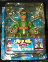 Nip 2005 Toy Biz Spider-man & Friends Super Heroes Tornado Spin Doc Ock Figure