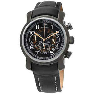Ben-and-Sons-Mercury-GMT-Chronograph-Men-039-s-Watch-10013-GM-01-RGWA