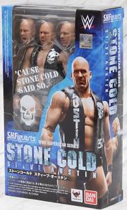 Wwe Stone Cold Steve Austin Lutte S.h.   Figure Figuarts Sh Bandai Tamashii