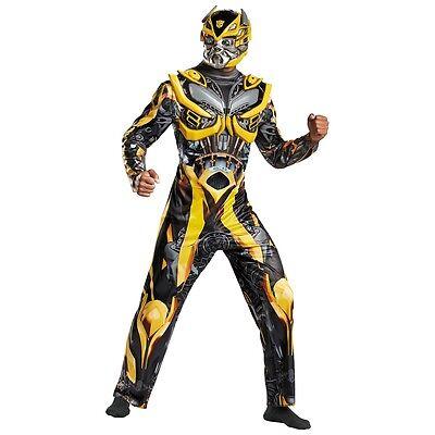 Bumblebee Costume Adult Transformers Halloween Fancy Dress