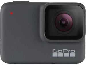 GoPro HERO7 Silver — Waterproof Digital Action Camera with Touch Screen 4K HD Vi