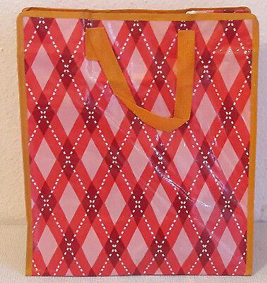 2 ZWEImal Einkaufstaschen Shopper Shoppingtasche mit Reissverschluss 60x30x20 cm