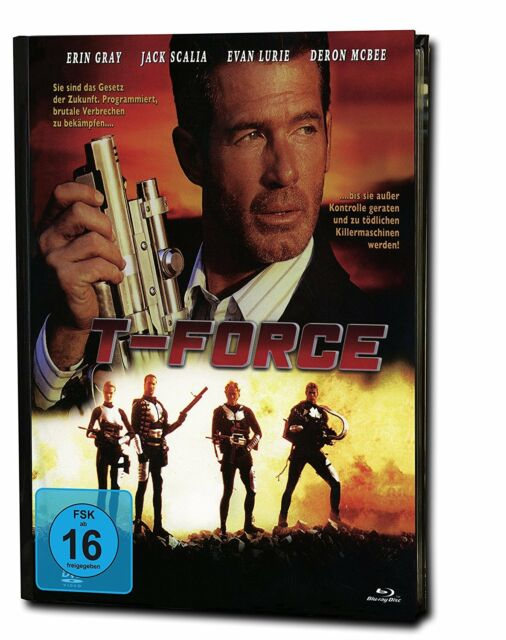 Mediabook T-FORCE Limited Edition JACK SCALIA BLU-RAY + DVD Box Neu COVER A