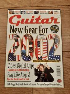 GUITAR MAGAZINE VOL.12 NO.10 (MARCH 2002) BILLY BRAGG MOTORHEAD