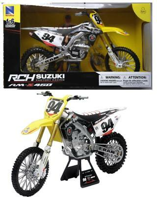 NEWRAY-SUZUKI rm-z450 2015 #94 Ken Roczen 1:12 Nuovo//Scatola Originale MOTO CROSS