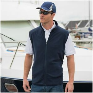 Mens-Microfleece-Gilet-Bodywarmer-Sleeveless-Fleece-Jacket-Vest-Body-Warmer