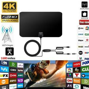 TV-Aerial-Amplified-Digital-HDTV-Antenna-960Miles-4K-HD1080P-DVB-T2-Freeview-TV