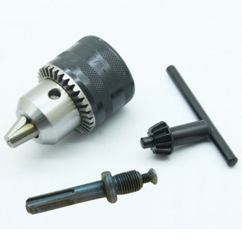 "13mm Sanou Keyed Drill Chuck 1//2/"" 20UNF with Key Adaptor for Electric Drill Tool"
