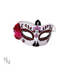 SUGAR CANDY ROSE FUN ADULT MASK SKULL MASQUARADE GOTHIC FUN NEW NEMESIS NOW