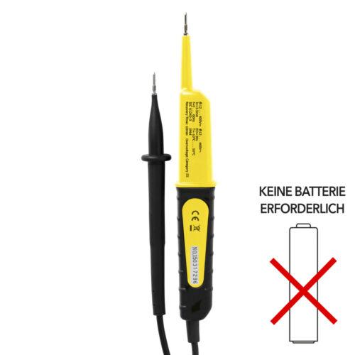 TROTEC Spannungsprüfer BE17SpannungsdetektorPhasenprüferStromprüfgerät