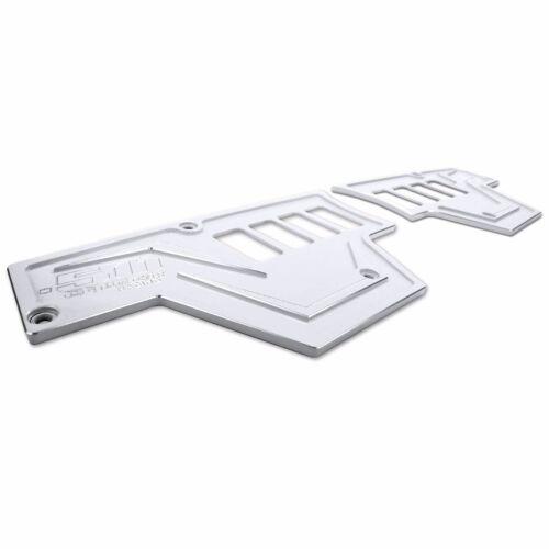 8 Switch White Aluminum 2pc Dash Panel Polaris RZR XP1000 XP 900s 2016 Turbo
