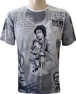 GOA RAVE T-Shirt BOB MARLEY T013FT35