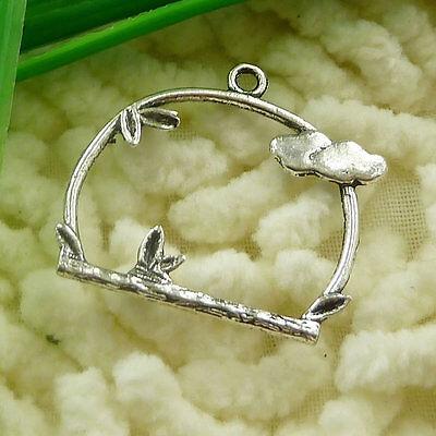 Free Ship 150 pcs tibetan silver birdcage charms 26x25mm #2000