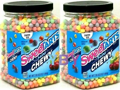 2 Packs Sweetarts Mini Chewy Candies Jar Party Size 51 Oz Each Pack 79200269159 Ebay