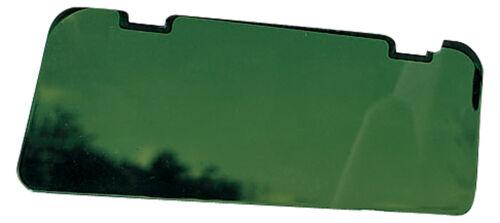 taille unique vert Visière Extender avec clips
