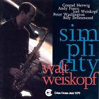 Simplicity by Walt Weiskopf (CD, Nov-1993, Criss Cross)