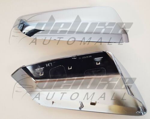 Chrome Clip-On Top Half Replacement Covers FOR 2018-20 Chevy Equinox GMC Terrain