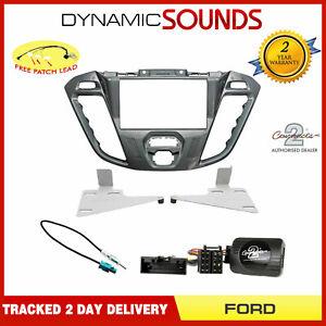 Nebula-Piano-Optic-Double-Din-Stereo-Fascia-Fitting-Kit-For-Ford-Transit-Custom