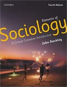 Elements of Sociology A Critical Canadian Introduction Canada Preview