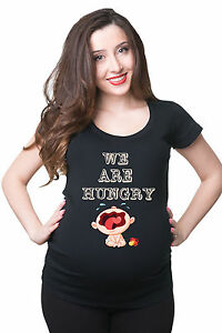 We-are-Hungry-Funny-Pregnancy-T-shirt-Gift-for-future-mommy-Maternity-Tee