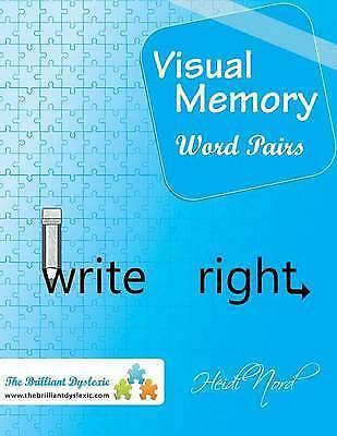 Visual Memory Word Pairs: Write Right! by Heidi Nord (Paperback / softback)