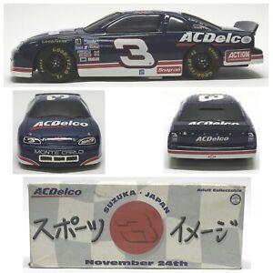 Dale-Earnhardt-3-Suzuka-Japan-AC-Delco-1996-Action-NASCAR-1-24-Diecast-Bank