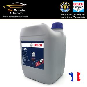 bosch liquide de frein dot 4 5 litres offre speciale ebay. Black Bedroom Furniture Sets. Home Design Ideas