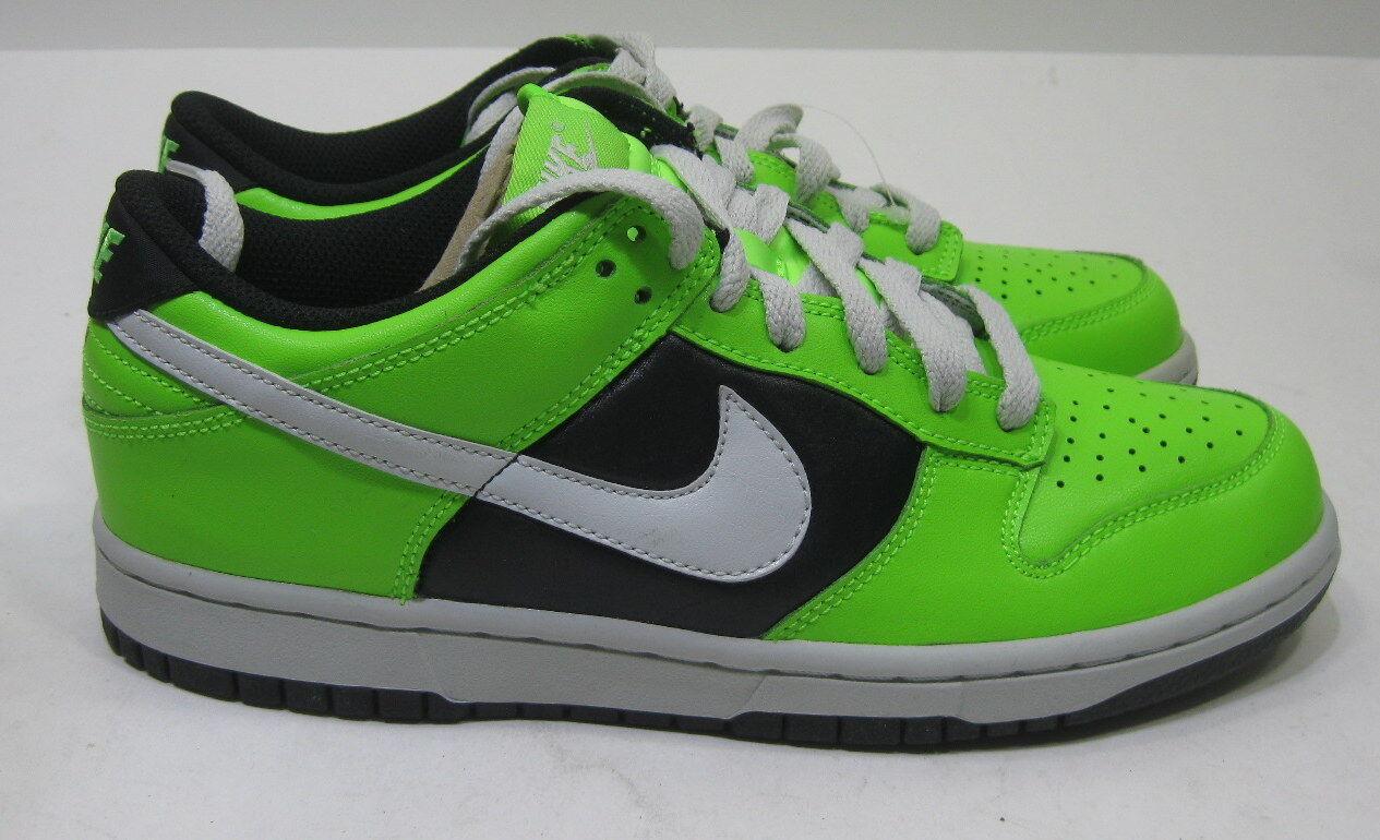 NEW Nike Wmns Dunk Niedrig Le Electric Grün 317813-302 317813-302 Grün Größe 6 7e1b37