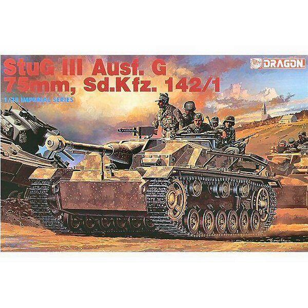 Dragon 9014 Stug lll Ausf G 75 mm SdKfz 142 1 1 35 scale plastic model kit