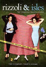 Rizzoli  Isles: The Complete Fourth Season (DVD, 2014, 4-Disc Set)