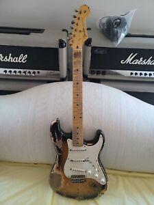 "2018 Nash Stratocaster Strat ""relic""..22 frets..heavy relic..Lollars/original!"