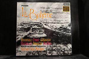 G-Puccini-La-Boheme-Karajan-Berliner-Philharmoniker-2-LP-Box