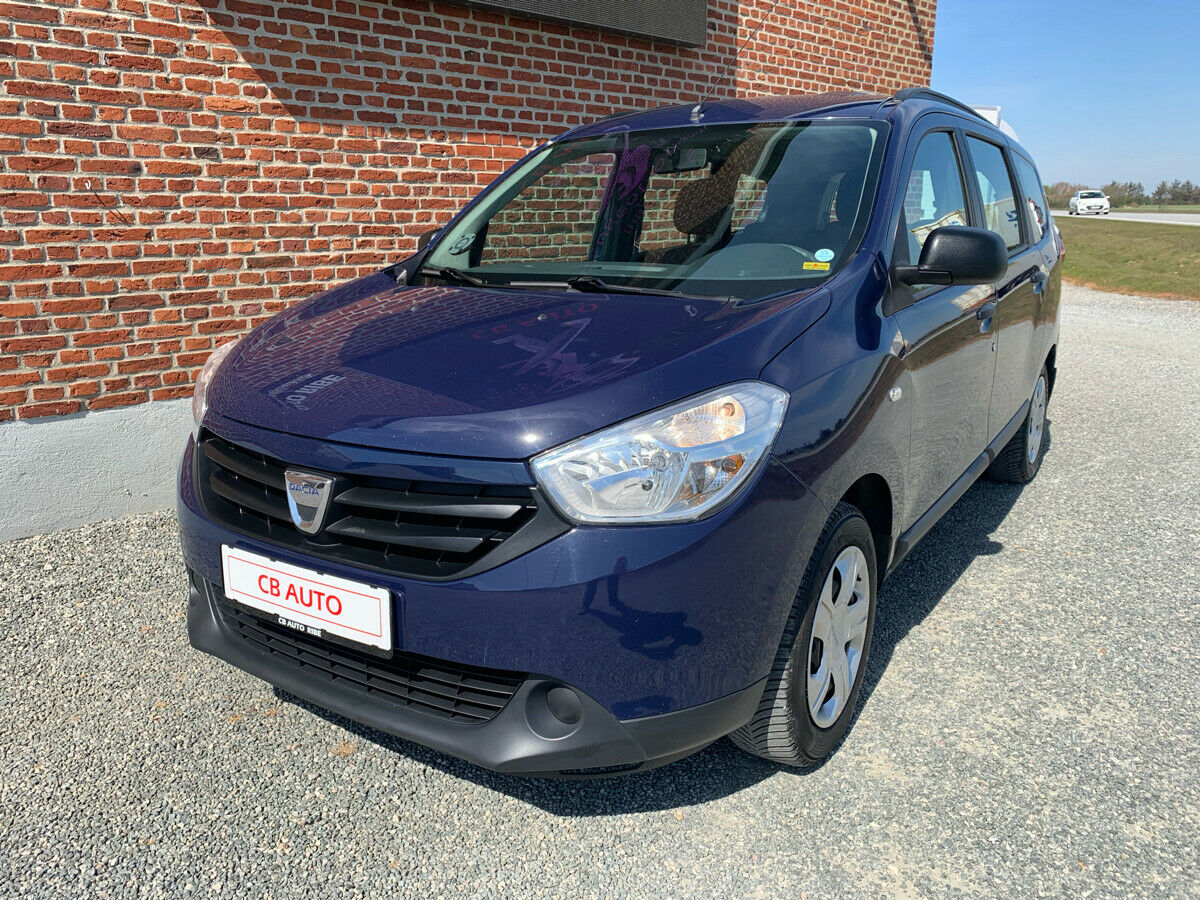 Dacia Lodgy 1,5 dCi 90 Ambiance 5d - 69.900 kr.