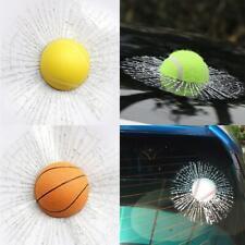 Adhesive Prank Simulation Broken Car Sticker Crack CL Ball 3D Decal Hits Hot