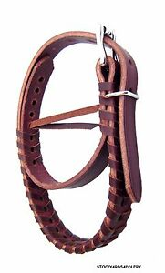 Rolled Leather English Saddle Grab Strap Made in the USA #6607