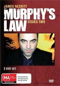 DVD-Murphy-039-s-Law-Series-Season-Two-2-2010-2-Disc-Set-PAL-R4