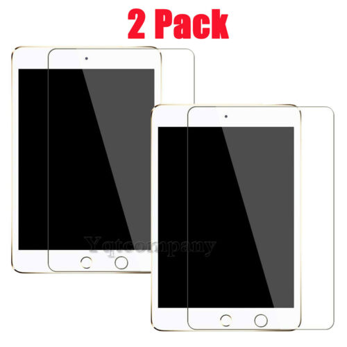 2X Tempered Glass Screen Protector For Apple iPad Air 1 22 3 4 5MiniPro