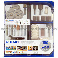 Dremel 724-150 Piece Multipurpose Accessory Gift Set Kit for Rotary Multi Tools
