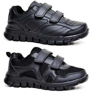 Boys-School-Shoes-Kids-Girls-Shock-Absorbing-Boots-Trainers-Back-To-School-Size